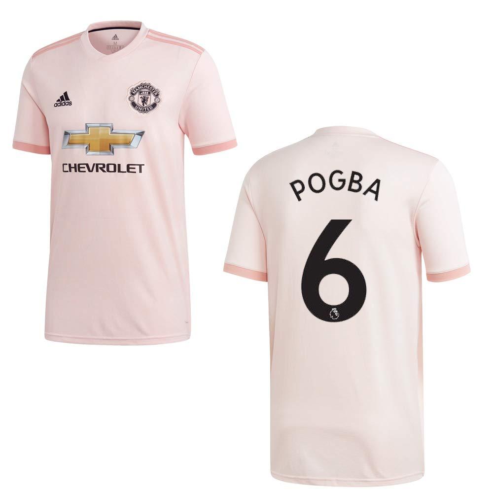 Adidas Manchester United Trikot Away Kinder 2018 2019 - Pogba 6
