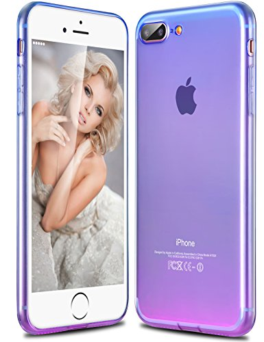 new products 1e1de 3ce29 iPhone 7 Plus Case, Ansiwee iPhone 7 Plus Cover Colorful Clear - Import It  All