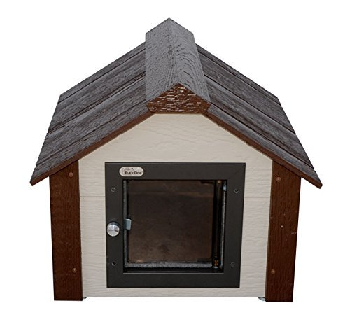 Climate Master Plus Insulated Dog House w Door - Small