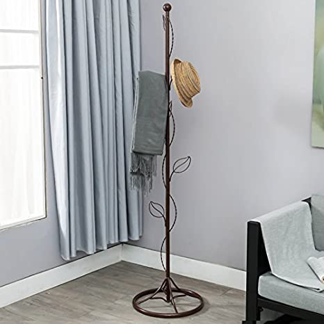 Amazon.com: Perchero Simple perchero Movil percha de ropa ...