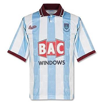91 – 92 West Ham – Camiseta de fútbol para, hombre, blanco