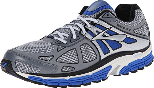 BROOKS Men's Beast 14 Electric/Pavement/Silver Sneaker 8 ...