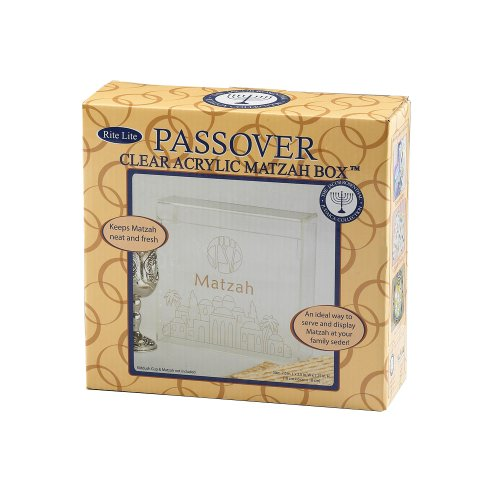 - Rite-Lite Judaic Hinged Matzah Box