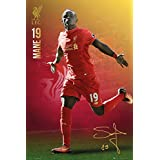 """FC Liverpool - The Reds - Soccer Poster / Print (Mane #19) (Size: 24"""" x 36"""")"""