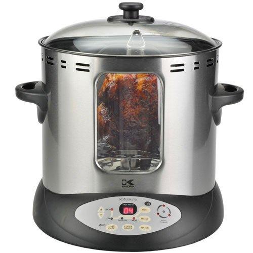 Kalorik Electric Countertop Vertical Rotisserie Oven Cooker DGR31031