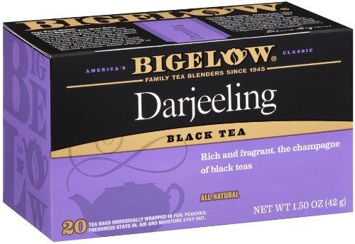 Bigelow Darjeeling Blend Tea, 20-Count Boxes (Pack of - Tea Champagne