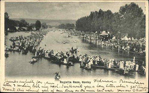Regatta Henley (Regatta Race Henley, England Original Vintage Postcard)