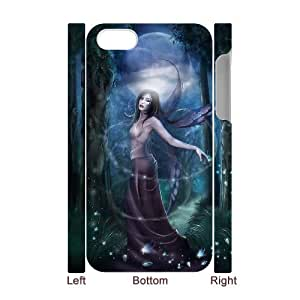 TOSOUL Diy hard Case Night Fairy customized 3D case For Iphone 4/4s