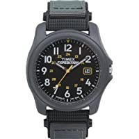 Men's T42571 Expedition Camper Green Nylon Strap Watch