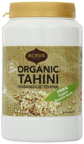 Achva Tahini, 100% Organic, 17.6-Ounce Jar (Pack of 1)