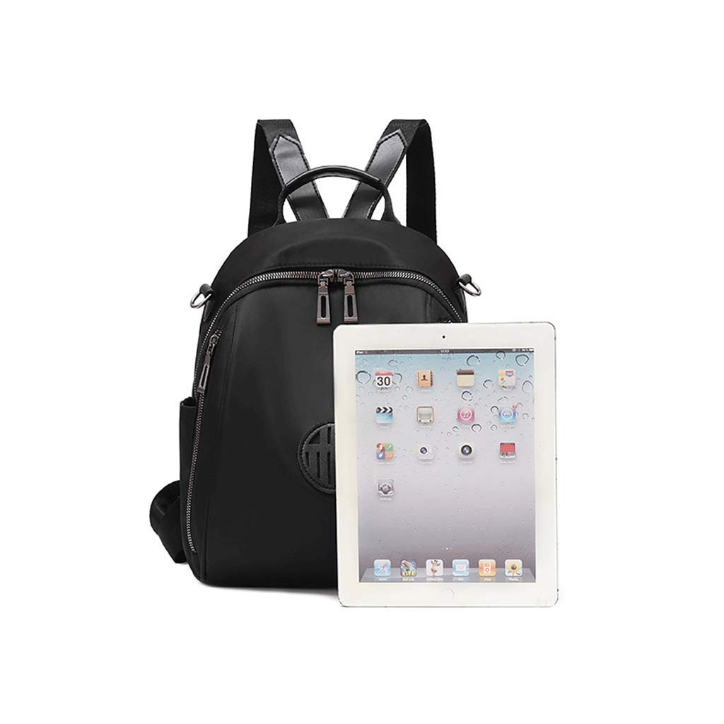 Backpack LCSHAN Shoulders Unisex Fashion Personality Oxford Cloth Casual Multi-Purpose