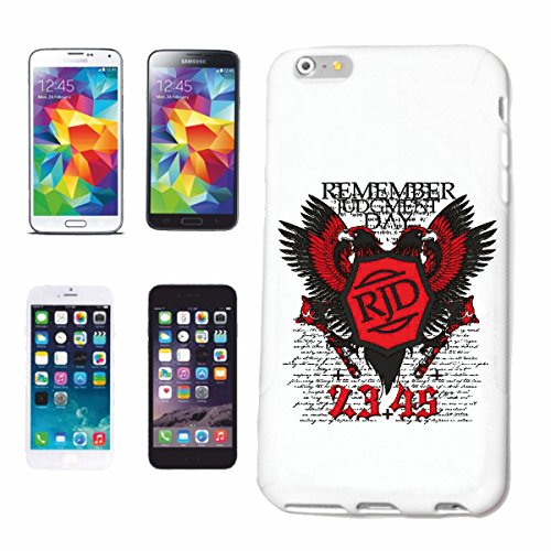 """cas de téléphone iPhone 6+ Plus """"RAPPELEZ JUDGMENT DAY VULTURE EAGLE RAPTOR BIRD WILD ANIMAL EAGLE VULTURE RAPTOR proie BUZZARD"""" Hard Case Cover Téléphone Covers Smart Cover pour Apple iPhone en blanc"""