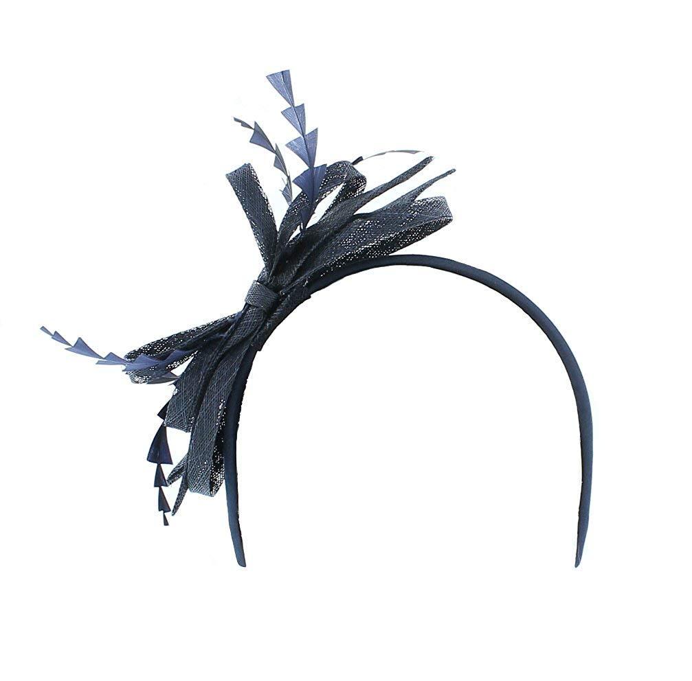 from Elegance Maylife Dorothy Sinamay /& Feather Headband Fascinator