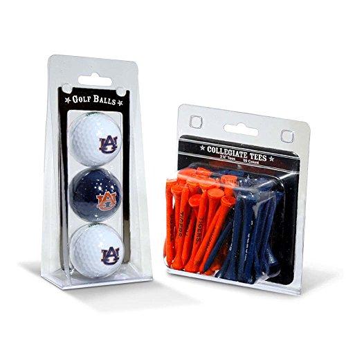 NCAA Auburn Tigers 3 Golf Balls And 50 Golf (Ncaa Auburn Tigers Golf Tee)