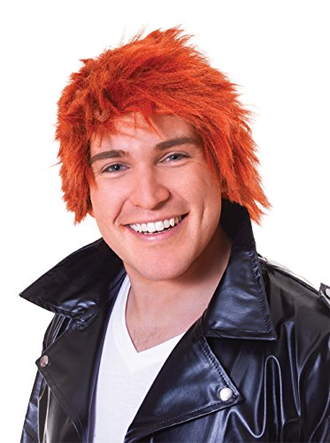 Bristol Novelty BW522 Ginger Chisel Wig, One Size ()