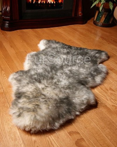 Premium Single Sheepskin Rugs - Twilight Single 1-Pelt