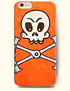 SevenArc Phone Case for iPhone 6 4.7 Inches with the Design of Sketch Skull