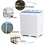 KUPPET Portable Washing Machine, Compact Twin Tub