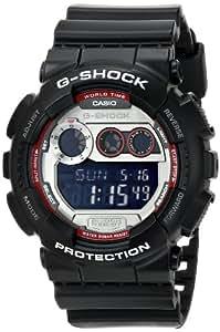 Casio Men's GD-120TS-1CR G-Shock Digital Display Quartz Black Watch