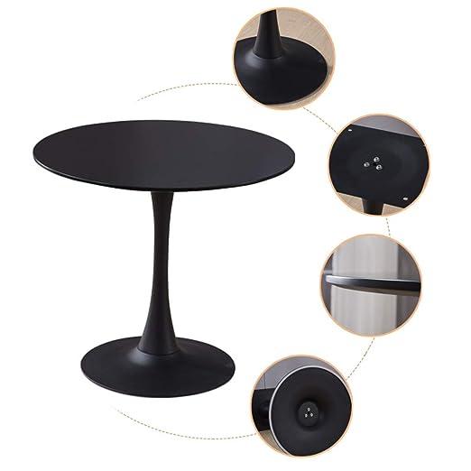 Mesas de café Mesa De Centro Simple Recepción Mesa Redonda Mesa De ...