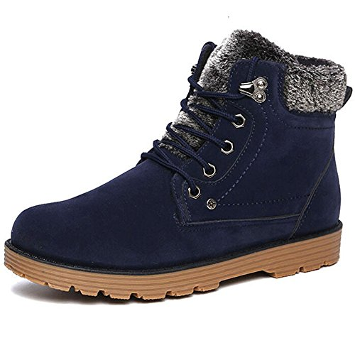 Lace Snow Winter Blue Mens Bumud Snow Winter up Boots Mens Lace up Bumud Boots Hwxd1HvPUq