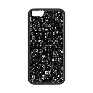 Nuktoe City IPhone 6 Case Virtual City for Women, Case for Iphone 6 for Women, {Black}