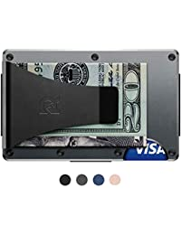 Authentic Minimalist Metal RFID Blocking Wallet - Money Clip