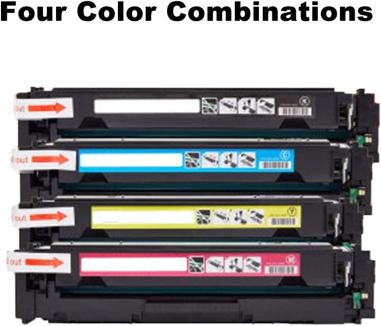 Compatible Toner Cartridge Replacement for for Canon MF735Cx MC732cdw LBP654Cx LBP 653Cdw Color Laser Printer-Combination