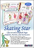 ScrapSMART Skating Star Software with Clip Art and Scrapbook Pages. For Students, Parents, and Instructors [Download]
