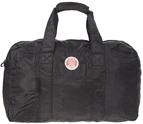 air-canada-lightweight-packable-fold-away-travel-duffel-bag-black