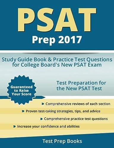 psat prep 2017 study guide book practice test questions for rh amazon com Understanding the PSAT PSAT 8 9