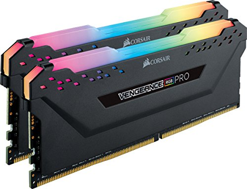 CORSAIR VENGEANCE RGB PRO 16GB (2x8GB) DDR4 4000MHz C19 LED Desktop Memory - Black