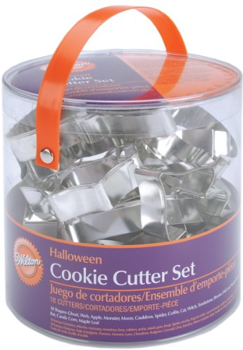 Wilton Halloween Metal Cookie 18-Piece Cutter Set- Discontinued