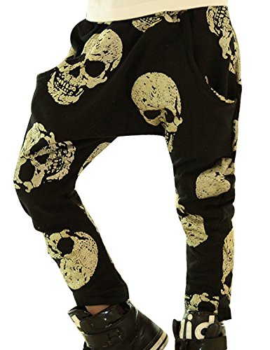Little Cartoon Printed Trousers Casual