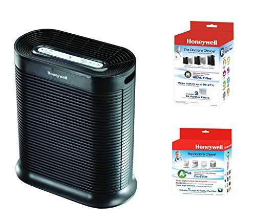 Honeywell True HEPA Allergen Remover, 465 Sq Ft, HPA300, HRF-R3, and HRF-APP1 …
