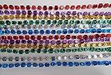 33 inch 7mm Dice Metallic 6 Color Mardi Gras