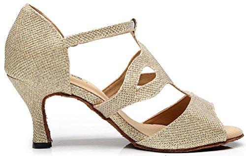Cfp - Chaussures De Danse De Satin Rose Rose Des Femmes Des QBStTzo