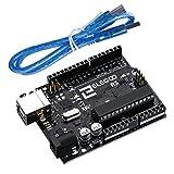 Elegoo UNO R3 Board ATmega328P ATMEGA16U2 with USB Cable for Arduino