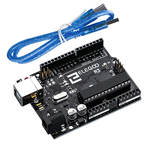 ELEGOO R3 Board ATmega328P ATMEGA16U2 with USB Cable RoHS - Usb Cable Board