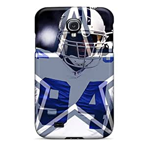Premium Dallas Cowboys Back Cover Snap On Case For Galaxy S4