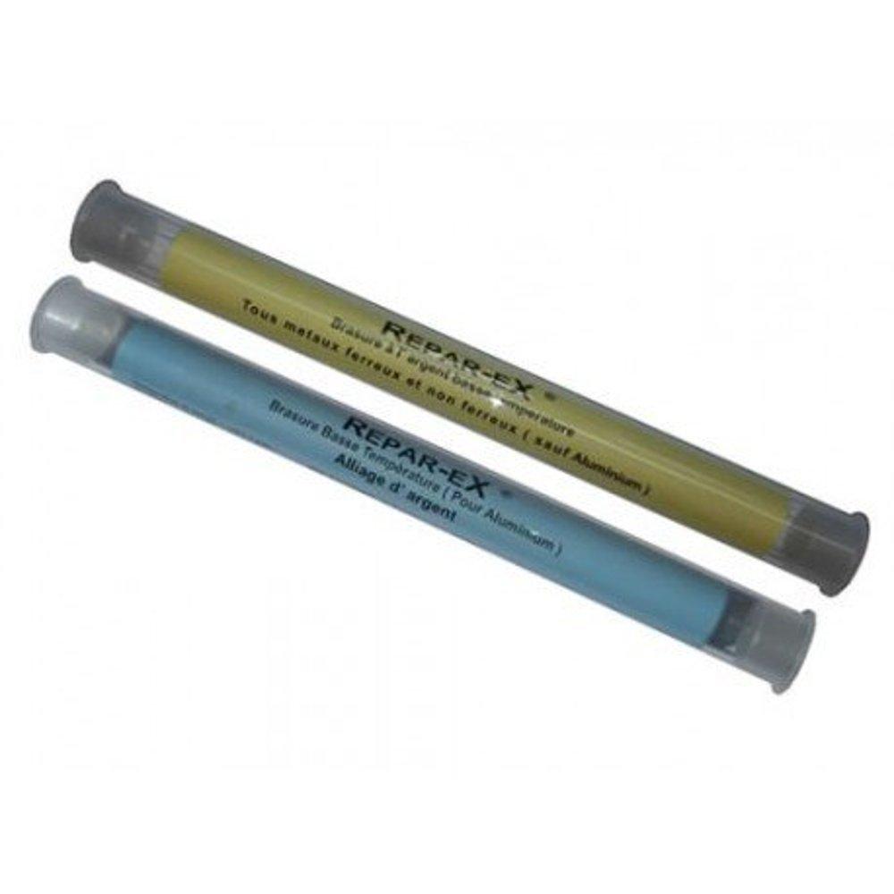 brasure acier/… /étain le bronze linox argent le zinc Brasure /à base dargent basse temp/érature pour les m/étaux ferreux et non ferreux Repar eX brasure laiton Brasure cuivre le plomb