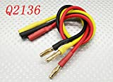 4mm Male Female Bullet Brushless Motor Extension Lead ESC