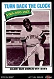 1977 Topps # 433 Turn Back The Clock Nate Colbert San Diego Padres (Baseball Card) Dean's Cards 5 - EX Padres