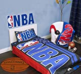 Exclusive NBA Basket Ball Collection 4 Pcs Twin Comforter Quilt & Sheet Set Official Licensed New