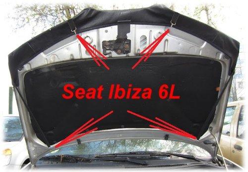 AB-00177 PROTECTOR DEL CAPO Ibiza 6L 2002-2008 Bonnet Bra TUNING
