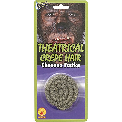 Halloween Facial Hair Beard Theatrical Crepe Makeup Costume Accessory NEW