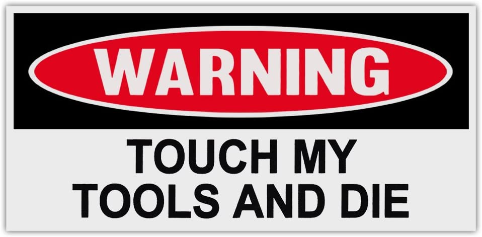 Magnet 2-3 Electrician Warning Attitude Decal Set Tools Motorcycle Magnetic Sticker Tools Ws2