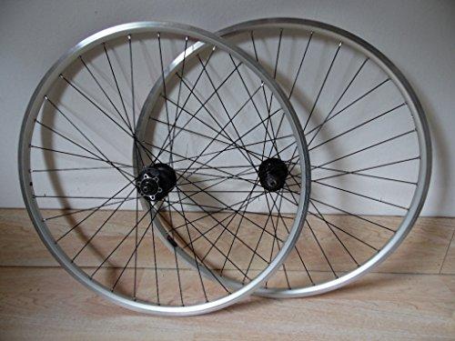 SHIMANO 700C / 29 inch front + Rear disc hybrid Clincher wheels QR 8-9 speed cassette hub wheel set ()