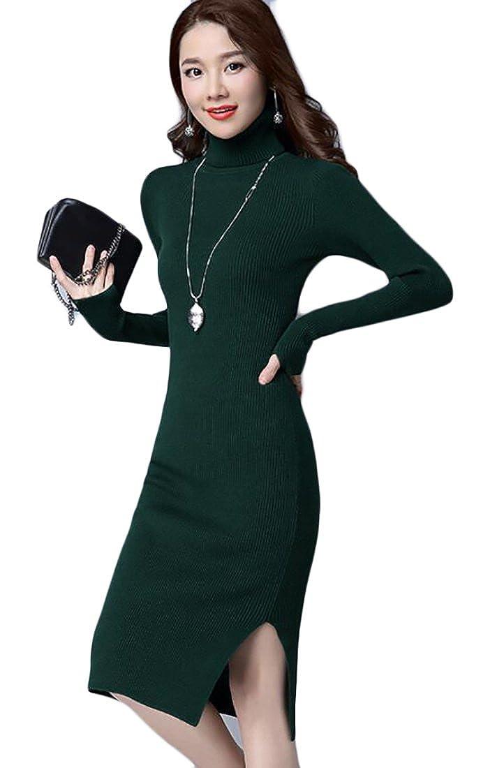 Zago DRESS レディース B0763LPPNM  ブラックグリーン One Size