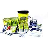 Earthquake Kit 4 Person Deluxe Home Honey Bucket Survival Emergency by Mayday by Mayday Industries